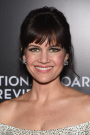 Carla Gugino pulled her hair back into a retro updo for the National Board of Review Gala.