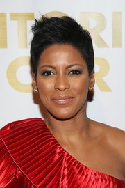 Tamron Hall went for an edgy fauxhawk at the For the Love of Our Children Gala.