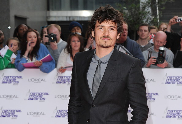 More Pics of Orlando Bloom Leather Lace-ups (1 of 9) - Orlando Bloom Lookbook - StyleBistro [event,youth,community,premiere,white-collar worker,orlando bloom,national movie awards,london,england,royal festival hall,red carpet arrivals]