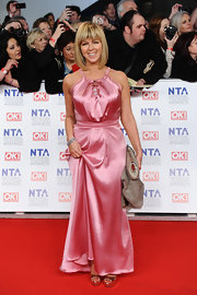 Kate Garraway was pretty in pink at the National Television Awards.