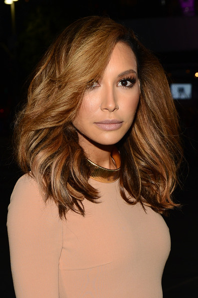 Naya Rivera Medium Wavy Cut
