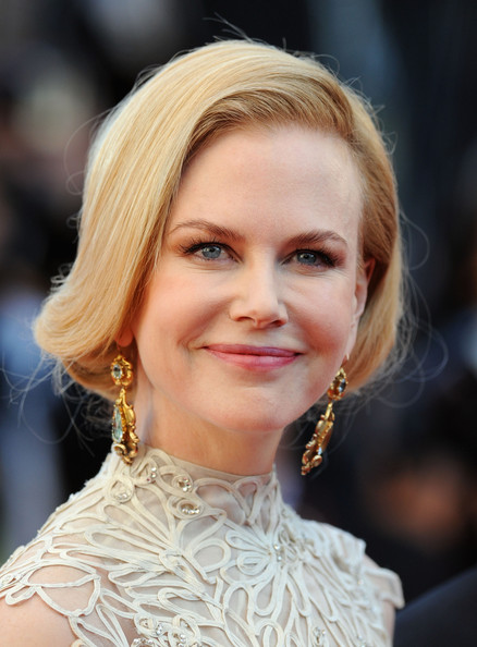More Pics of Nicole Kidman Bobby Pinned Updo (3 of 61) - Updos Lookbook - StyleBistro