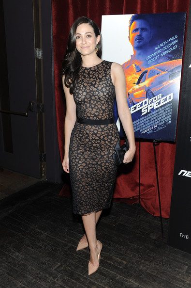 More Pics of Emmy Rossum Long Wavy Cut (1 of 3) - Long Wavy Cut Lookbook - StyleBistro