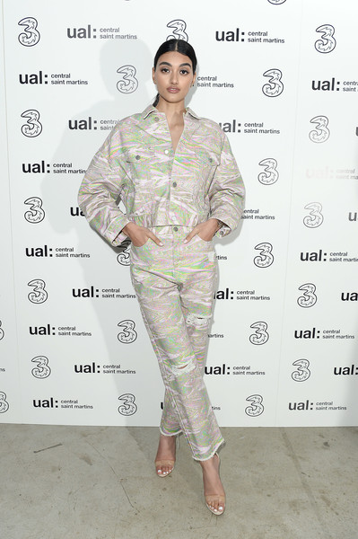 Neelam Gill Strappy Sandals [clothing,pattern,sleeve,uniform,military uniform,fashion design,neelam gill,5g,fashion,london,england,party,central st martins,lfw,central saint martins ma show,central st martins ma show]