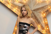 Peaches Geldof Shimmers in Sequined Dolce & Gabbana