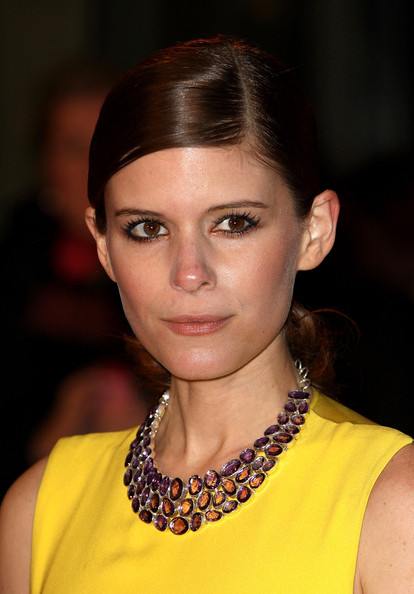 More Pics of Kate Mara Metallic Eyeshadow (1 of 17) - Kate Mara Lookbook - StyleBistro