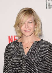 Chelsea Handler styled her locks into a cute curled-out bob for the 'Orange is the New Black' panel discussion.