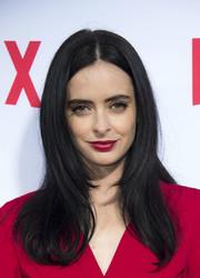Krysten Ritter attended the 'Jessica Jones' FYC screening wearing her hair in stylish face-framing layers.