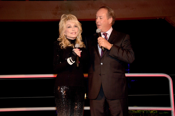More Pics of Dolly Parton Turtleneck (7 of 28) - Dolly Parton Lookbook - StyleBistro [heartstrings,event,speech,performance,singing,public speaking,talent show,dolly parton,craig ross,pigeon forge,tennessee,netflix,premiere]