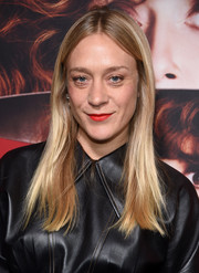 Chloe Sevigny sported her signature hippie-chic 'do at the premiere of 'Russian Doll' season 1.