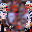 Tom Brady and Chad Johnson