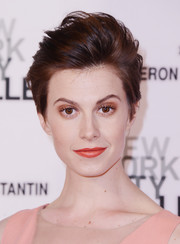 Elettra Wiedemann rocked bedhead at the New York City Ballet Spring Gala.