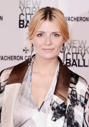 Mischa Barton kept it classic with this loose center-parted updo when she attended the New York City Ballet Spring Gala.