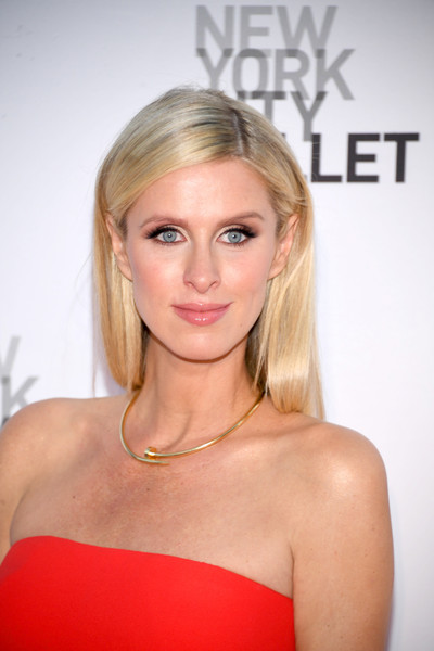 Nicky Hilton's Classic Straight Style