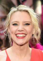Kate McKinnon worked a messy-glam updo at the New York premiere of 'Rough Night.'