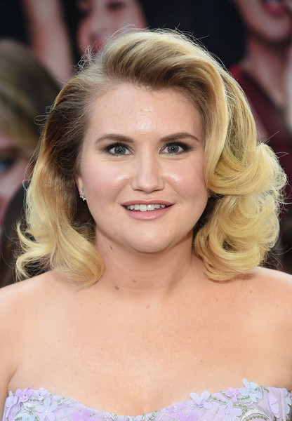More Pics of Jillian Bell Corset Dress (1 of 5) - Dresses & Skirts Lookbook - StyleBistro [hair,face,hairstyle,blond,eyebrow,chin,beauty,long hair,brown hair,lip,jillian bell,new york,amc lincoln square theater,sony,svedka vodka,premiere,rough night presented]
