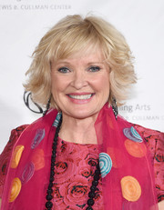 Christine Ebersole went for a stylish razor cut at the New York Public Library for the Performing Arts' 50th anniversary gala.