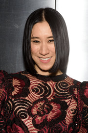Eva Chen stuck to her usual center-parted bob when she attended the Fool's Fete Spring Dance.