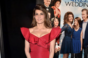 Nia Vardalos Mermaid Gown