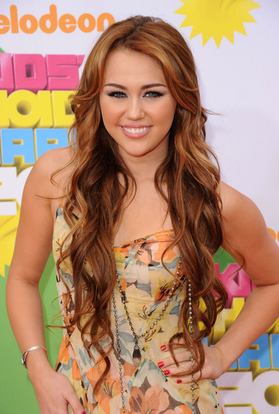 Miley+Cyrus in Nickelodeon's 24th Annual Kids' Choice Awards - Arrivals