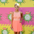 Stefanie Scott Wore Keepsake at Nickelodeon's 26th Annual Kids' Choice Awards 2013