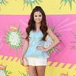 Selena Gomez Wore Oscar de la Renta at Nickelodeon's 26th Annual Kids' Choice Awards 2013