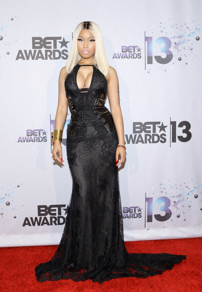 Nicki Minaj White Lace Dress Evening Dress Nicki Minaj