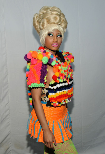 Nicki Minaj Print Blouse