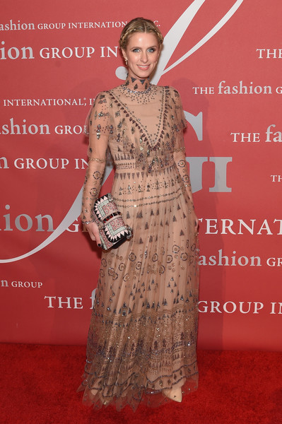 Nicky Hilton Beaded Dress