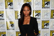 Nicole Beharie Leather Pants