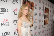 Nicole Kidman Beaded Dress