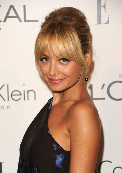 Nicole Richie Dangling Pearl Earrings