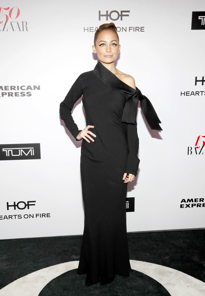 Nicole Richie Off-the-Shoulder Dress