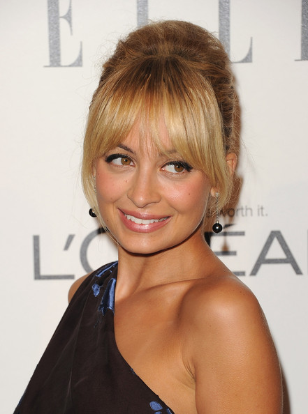 Nicole Richie French Twist