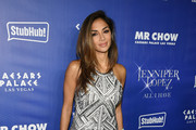 Nicole Scherzinger Sequin Dress
