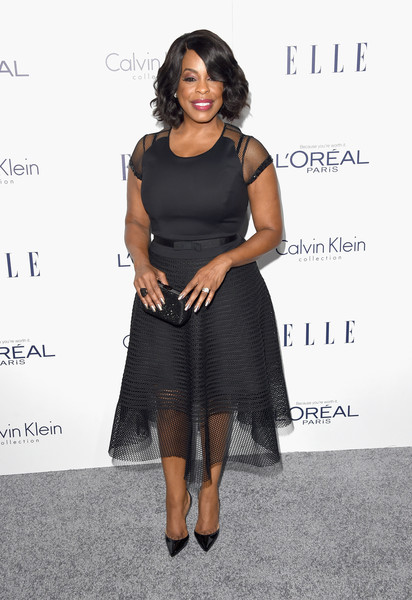 Niecy Nash Little Black Dress