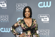 Niecy Nash Embroidered Dress