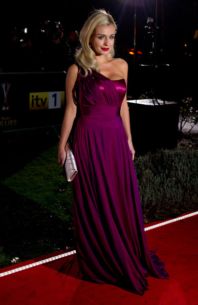 More Pics of Katherine Jenkins Evening Dress (2 of 3) - Dresses & Skirts Lookbook - StyleBistro [dress,red carpet,carpet,clothing,gown,hair,shoulder,fashion model,flooring,hairstyle,a night of heroes: the sun military awards,england,london,imperial war museum,katherine jenkins]