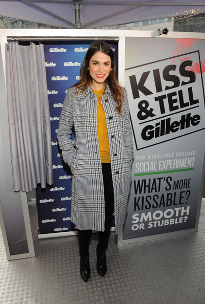 Nikki Reed Wool Coat