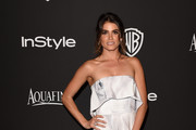 Nikki Reed Strapless Dress