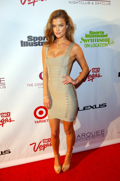 Nina Agdal Bandage Dress