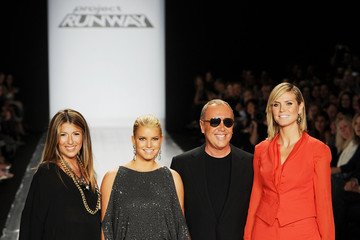 Nina Garcia Jessica Simpson MBFW Spring 2011 - Official Coverage - Runway Day 1