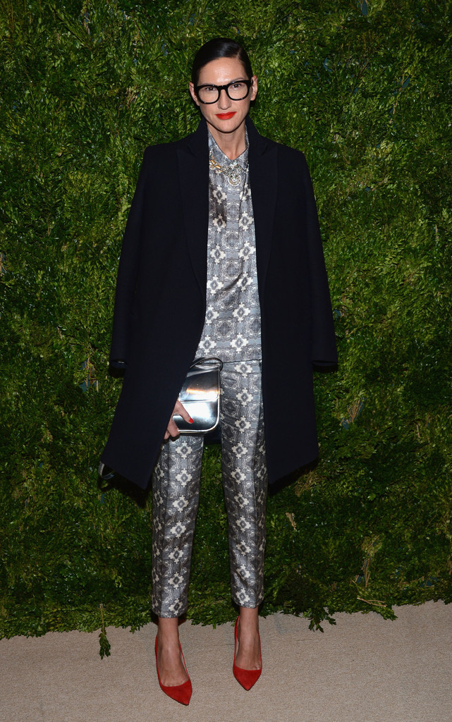 JCrew President and Creative Director Jenna Lyons attends The Ninth Annual CFDA/Vogue Fashion Fund Awards at 548 West 22nd Street on November 13, 2012 in New York City.