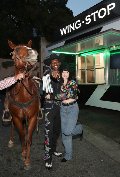 Noah Cyrus Crop Top [horse,bridle,halter,horse tack,horse supplies,horse harness,rein,pack animal,recreation,mare,noah cyrus,horse,photography,horse tack,old town road,west hollywood,california,lil nas x,wingstop team up for old town road premiere party,premiere party,lil nas x,noah cyrus,old town road,horse,7,photography,2019]