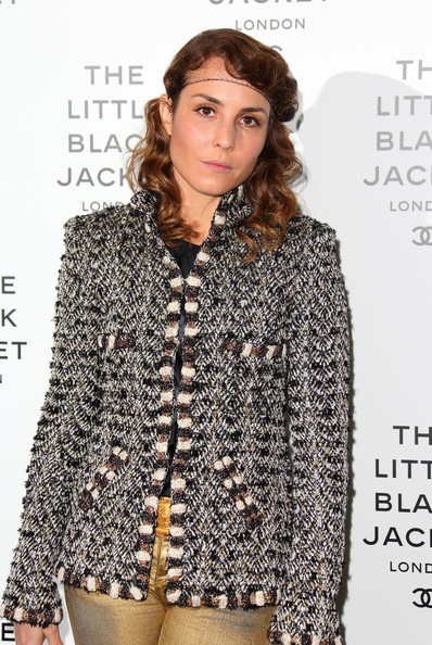 Noomi Rapace Tweed Jacket