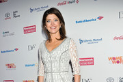 Norah O'Donnell Print Dress