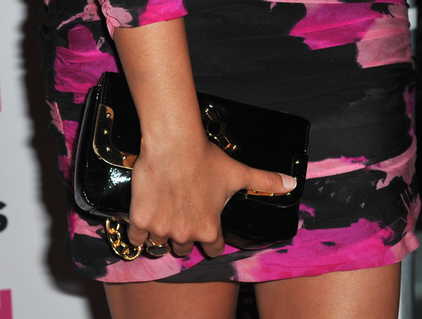 More Pics of Amber Stevens Patent Leather Clutch (1 of 4) - Amber Stevens Lookbook - StyleBistro