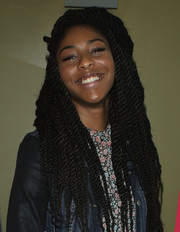 A dreadlocked Jessica Williams made an appearance at the 'Obvious Child' New York special screening.