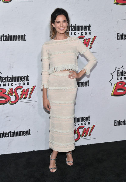 Odette Annable Fringed Skirt