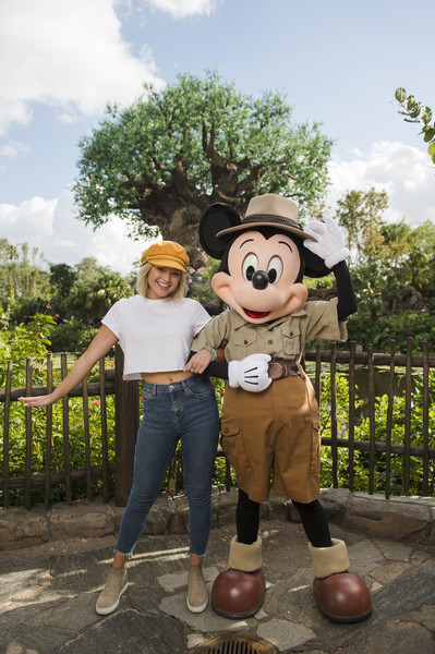 Olivia Holt Capri Jeans [marvels cloak dagger,handout photo,animated cartoon,fun,tree,vacation,mascot,photography,child,animation,plant,happy,olivia holt,actress,actress,holt,walt disney world resort,disneys animal kingdom,disney parks,hollywood records]